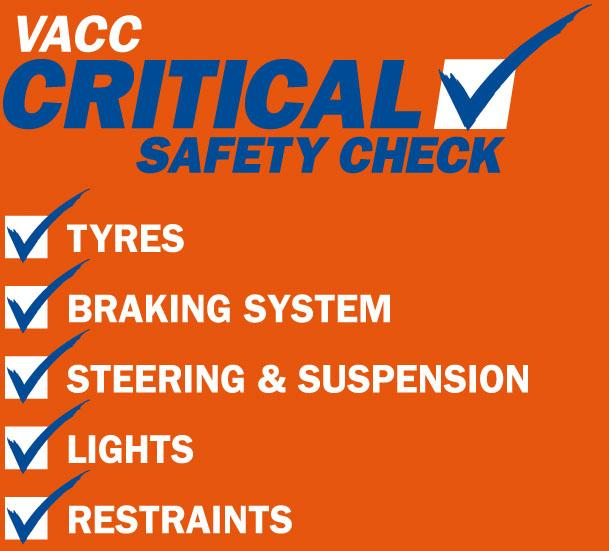 VACC Safety Certificate